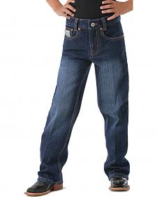 Cinch Toddler Boys'  White Label Dark Denim Jeans