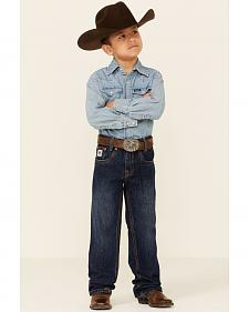 Cinch Boys' White Label Demin Straight Leg Jeans - 4-7