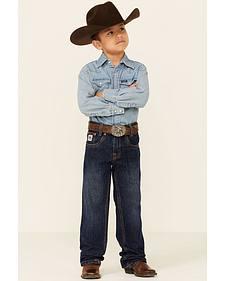 Cinch Boys' White Label Demin Straight Leg Jeans - 4-7