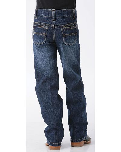 Cinch Boys White Label Demin Straight Leg Jeans 8-18 Western & Country MB12882002