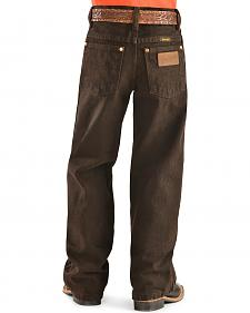 Wrangler Boys' 13MWJ Cowboy Cut Original Fit Jeans - 4-7