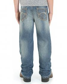 Wrangler Rock 47 Slim Fit Techno Denim Jeans- 4-7