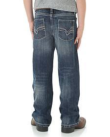 Wrangler 20X Boys' 42 Vintage Bootcut Jeans - 4-7
