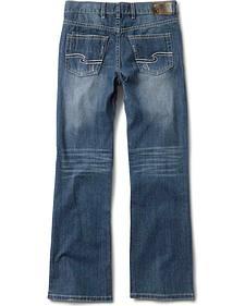 Silver Boys' Zane Bootcut Jeans - 4-7