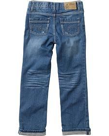 Silver Boys' Benny Straight Leg Jeans - 4-7
