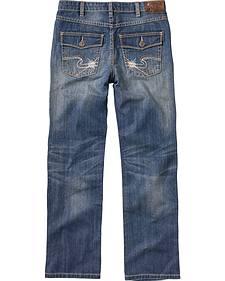 Silver Boys' Benny Straight Leg Jeans - 8-16