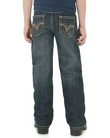 Wrangler 20X Boys' 42 Vintage Bootcut Jeans - 8-16