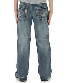 Wrangler Rock 47 Boys' Slim Bootcut Jeans