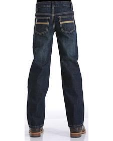 Cinch Boy's Indigo White Label Jeans - Regular