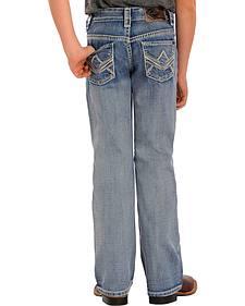 Rock and Roll Cowboy Boys' Light Wash BB Gun Bootcut Jeans