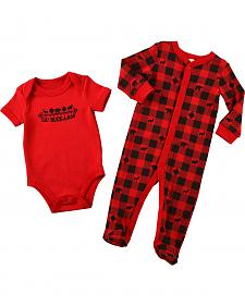 Cody James Infants' Lil' Buckaroo Onesie Set