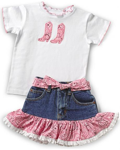 Girls' Bandana Outfit - 2T-6