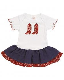 Girls' Bandana Print Infant Dress - 6-24 mos.