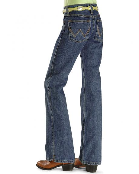 Wrangler Girls' Ultimate Riding Jeans - Reg/Slim 4-6X