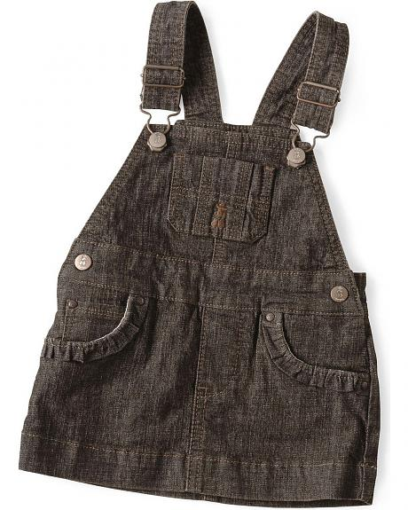 Wrangler Infant Girls' Denim Skirt Overall - 6-18 months