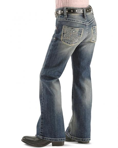 Wrangler Jeans - Rock 47 Dream Maker Relaxed Fit Boot Cut - 7-14 Reg