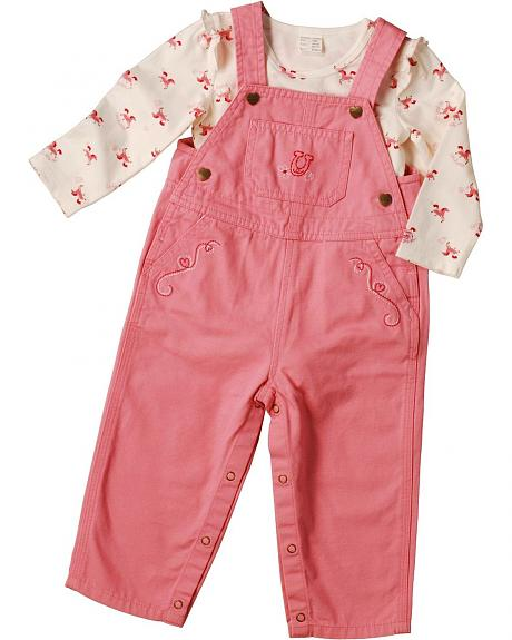 Carhartt Horseshoe Overall Outfit - 3M - 24M