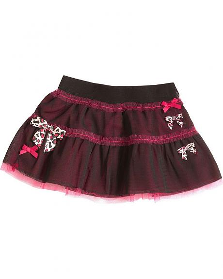 Wrangler Infant Girls' Mesh Bow Skirt - 6M-18M