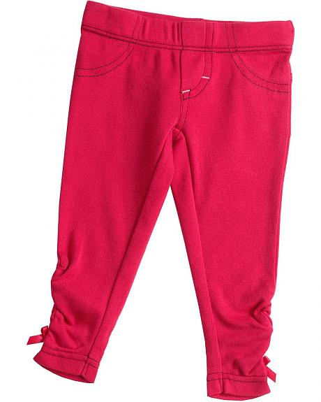 Wrangler Infant Girls' Pink Knit Leggings