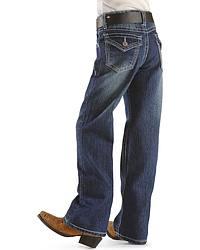 Girls' Stitched Back Pocket Jeans - 4-6X at Sheplers