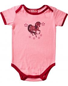 Red Ranch Infant Girls' Pony Bodysuit - 3M-18M