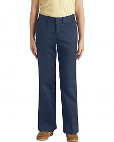 Dickies Girls's Stretch Bootcut Pants - 7-14 Slim