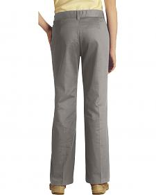 Dickies Junior Girl's Stretch Bootcut Pants - Plus