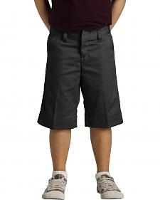 Dickies Junior Girls' Stretch Bermuda Shorts - 15-21