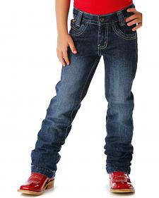 Cruel Girl Toddler Girls' Utility Slim Fit Jeans