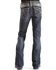 Miss Me Girls' Take Flight Bootcut Jeans