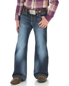 Wrangler Rock 47 Girls' Embellished Bootcut Jeans