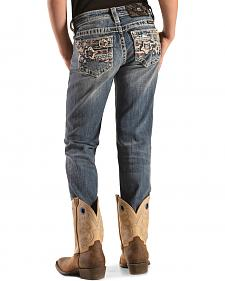 Miss Me Girls' Stars & Stripes Skinny Jeans