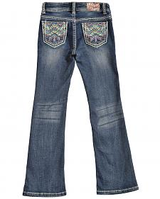 Grace in LA Girls' TeePee Bootcut Jeans