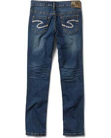 Silver Girls' Sasha Skinny Jeans - 7-16