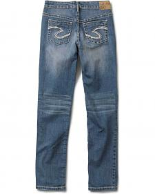 Silver Girls' Sasha Skinny Jeans - 4-6X