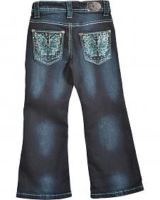 Cowgirl Hardware Toddler Girls' Butterfly Jeans