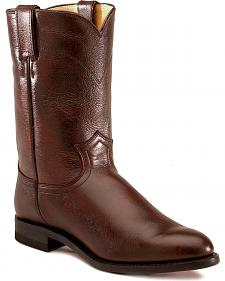 Justin Classic Roper Cowboy Boots - Round Toe