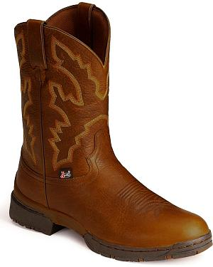 Justin George Strait 3.1 Roper Boots - Round Toe