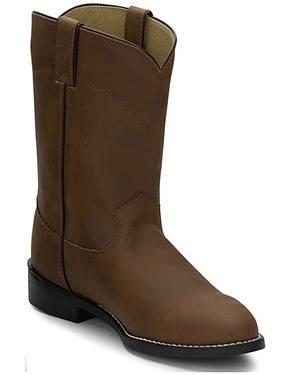 Justin Basics Roper Cowboy Boots