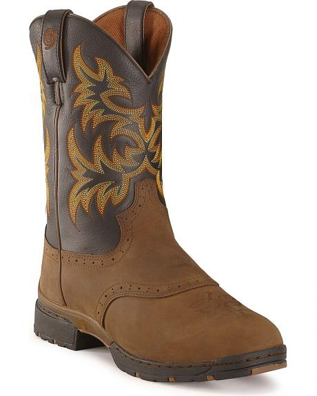 Justin George Strait 3.1 Roper Boots