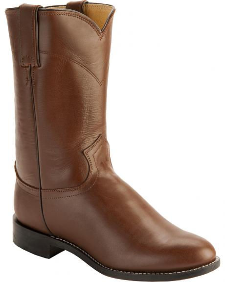 Justin Classic Roper Boots - Round Toe