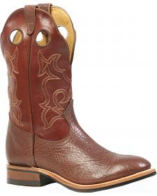 Boulet Roper Cowboy Boots - Round Toe