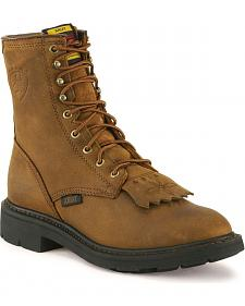 """Ariat Cascade 8"""" Lace-Up Work Boots"""