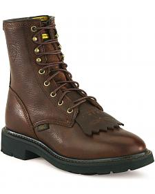 "Ariat Cascade 8"" Lace-Up Work Boots"