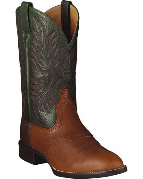 Ariat Heritage Stockman Cowboy Boots