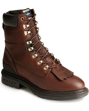 "Ariat Hermosa XR 8"" Lace-Up Work Boots"