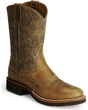 Ariat Heritage Crepe Cowboy Boots