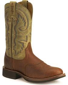 Ariat Cobalt Quantum Crepe Cowboy Boots