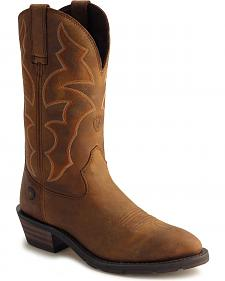 Ariat Ironside Waterproof Pull-On Work Boots - Soft Toe