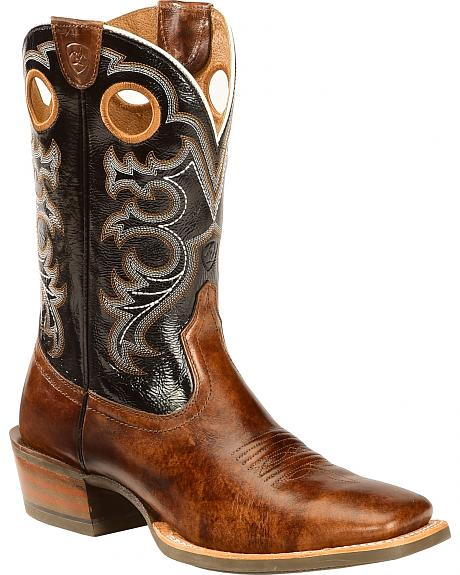 Ariat Crossfire Performance Western Boots - Square Toe